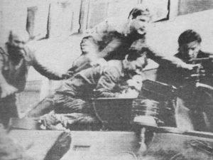 Напад на војнике ЈНА у Сплиту (архив)