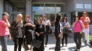 Porodice srpskih žrtava sa područja Bratunca i Srebrenice