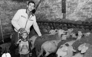 Предраг Куриџа са сином Луком: Свој сам на своме, али када треба саставити мјесец... Фото: Јовица Дробњак