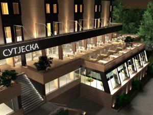 Projekat hotela Sutjeska