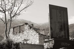 Трново, Ледићи, Споменик цивилним жртвама