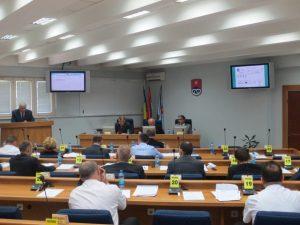 Градоначелник Приједора Марко Павић на сједници Скупштине града
