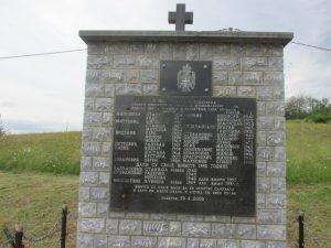 Спомен обиљежје убијеним Србима у Брежанима