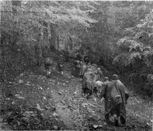 Партизани за време битке на Сутјесци