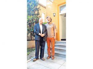 Гидеон Грајф и Емир Кустурица (Фото: К. Трипковић)