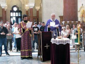 U Crkvi Svetog Marka u Beogradu služen je parastos za 1.600 Srba, koje su ustaše mučki ubile na pravoslavni praznik Ognjenu Mariju 30. jula 1941. godine u Livnu
