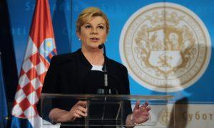 Да ли је ова хрватска претња део предизборне кампање или нешто више? Колинда Грабар Китаровић