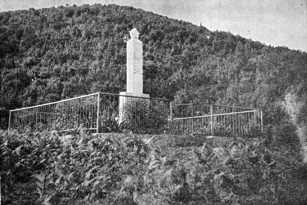 Подигнути споменик закланим и погинулим у Крушковачама 4/5 августа 1941. године