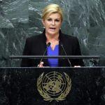 Hrvatska predsednica u sedištu UN