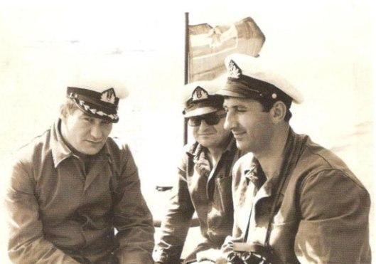 Крсто Ђуровић (десно)