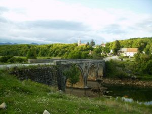 Косинјски мост-мјесто гдје је ухапшена Марица и остали