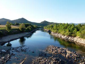 Prelaz Brod – ostaci benta na rijeci Lici