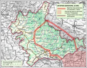 Српска насеља нападнута 31. октобра 1991. године