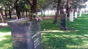 Биста народног хероја Владе Шегрта украдена је током ноћи из градског парка у Tребињу