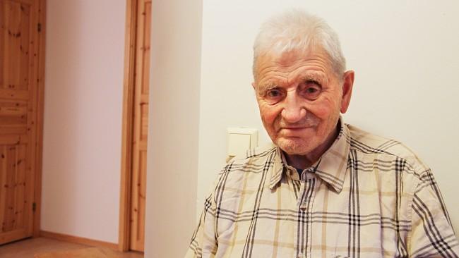 Јозеф Моен је лично видео како је било страшно југословенским ратним заробљеницима у Карашоку током Другог светског рата. ФОТОГРАФИЈА: Марте Линди