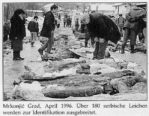 Мркоњић Град: Жртве из масовне гробнице