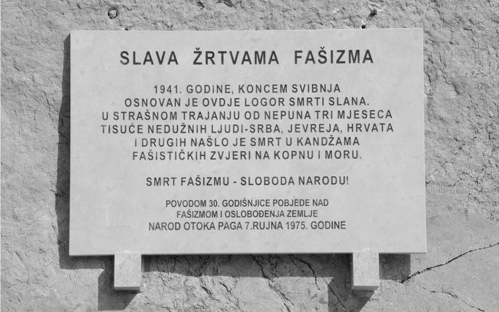 Od 2010. spomen-ploča je dvaput obnavljana, no oba je puta bila razbijena Foto: Jovica Drobnjak