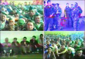 Заточени Срби у логору у Оџаку 1992.