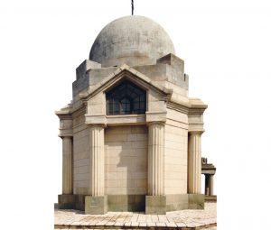 Kapela na austrougarskom vojnom groblju, podignuta 1918. godine (Foto: Uroš Bogdanović)