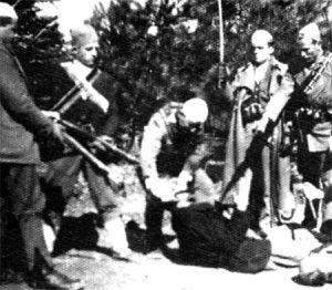 Albanci ubijaju srbskog seljaka na Kosovu