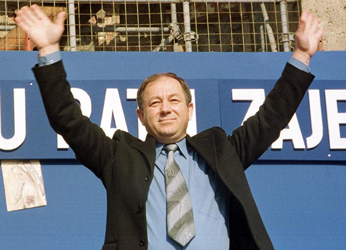 Томислав Мерчеп - архивска фотографија из 2001. године Фото: AP Zeljko Lukunic