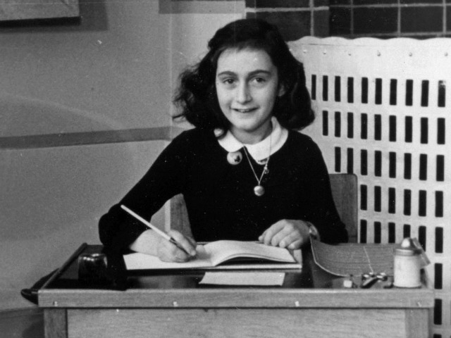 Anne Frank. Photo: Wikimedia Commons/Unknown photographer/Anne Frank Stichting Amsterdam.