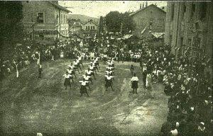 Ženski podmladak na sletu u Čapljini 1924. godine