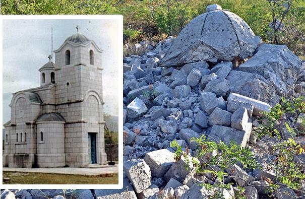 Црква Светог пророка Јеремије у Зачули: Данас само гомила камења