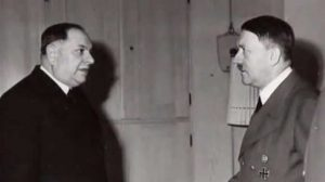 Милан Недић и Адолф Хитлер