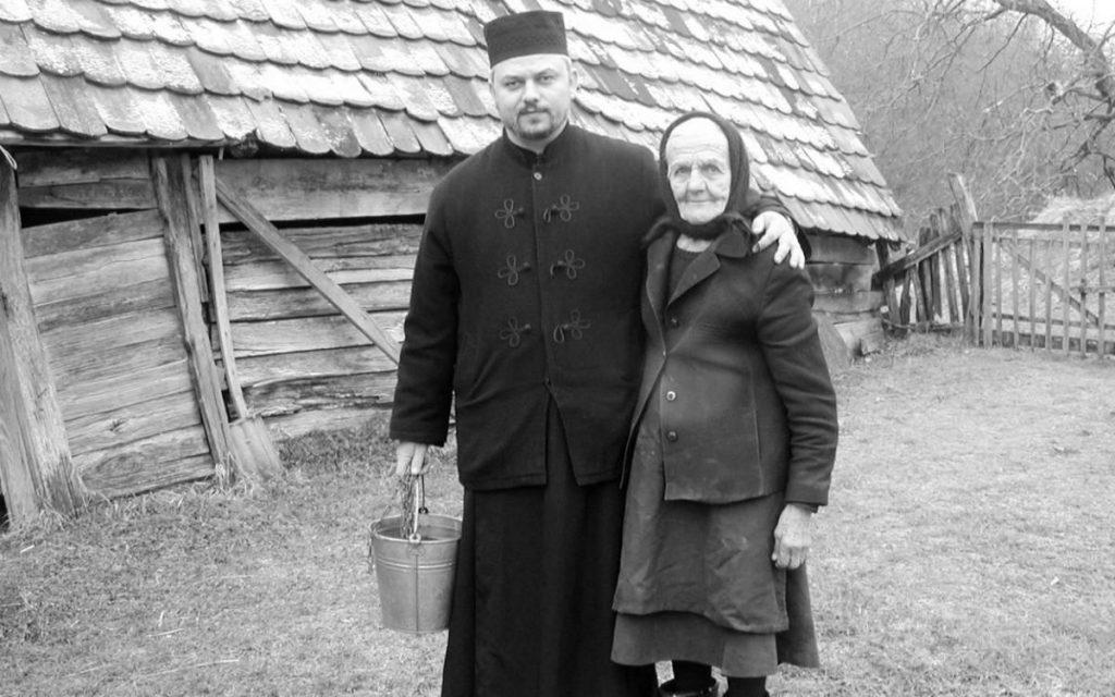 Glinski paroh Slobodan Drakulić i Milka Mađarac