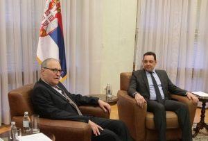 Министар Вулин са др Ефраимом Зурофом