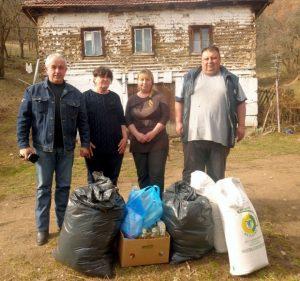 Хидо Муратовић са Росом, Марином и Милошем Јовановићем