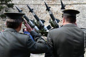 """Ракете """"нева"""" на Калемегдану за Дан сећања"""