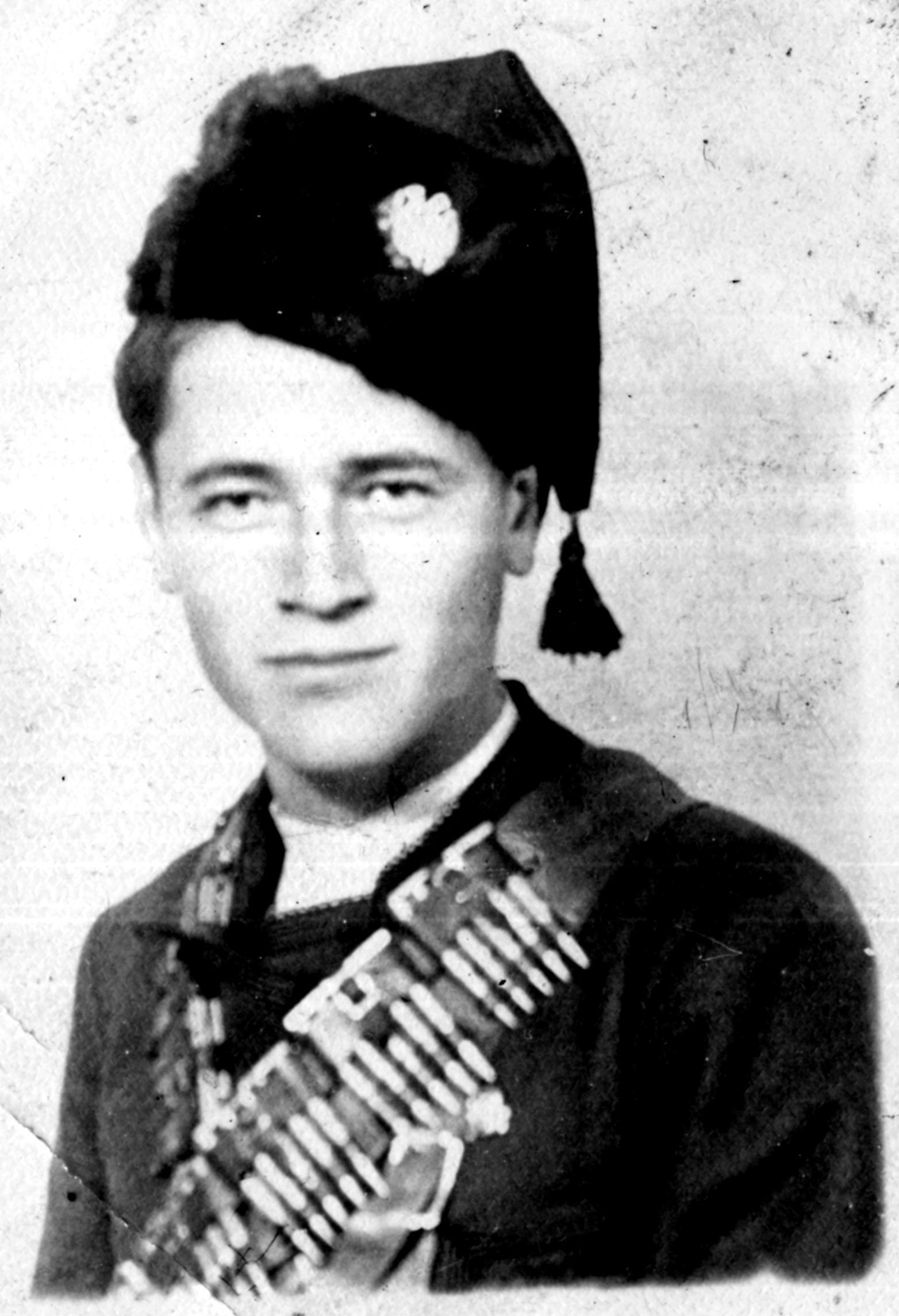 Обрад Кујовић, октобар 1941.