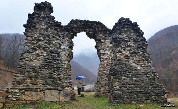 Рушевине средњовековног манастира Водица, Фото Б. Субашић