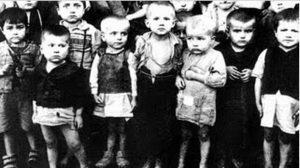 Дјеца у логору