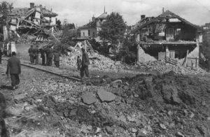 Београд после бомбардовања 1944. године