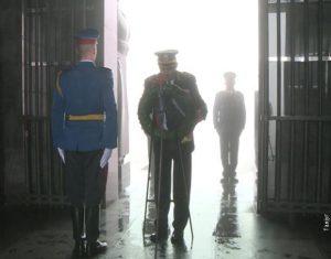 Положен венац на Споменик незнаном јунаку