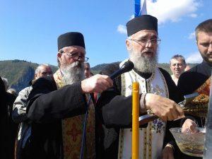 Служење парастоса руским добровољцима на Мегдану.
