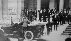 Франц Фердинанд стиже у Сарајево јуна 1914.