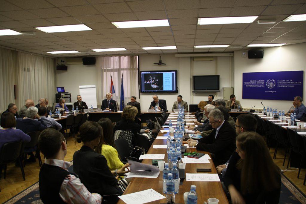 Проф. др Борис Беговић - уводно обраћање на конференцији Правни поредак Независне Државе Хрватске