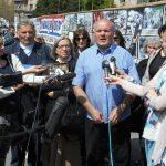 Предсједник Удружења породица киднапованих и убијених на Косову и Метохији Симо Спасић.