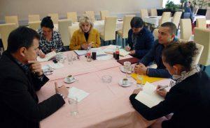 Сједница Организационог одбора за обиљежавање Дана несталих Срба Сарајева и Сарајевско-романијске регије.