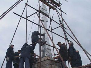Спомен обиљежје руским добровољцима Фото: РТРС