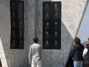 Spomenik izviđačima 16. brigade Foto: RTRS