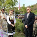 Предсједник Удружења ратних заробљеника општине Дервента Драго Кнежевић.