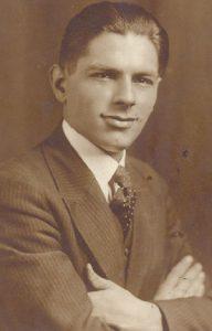 Владимир Гаћиновић у Њујорку 1916. године