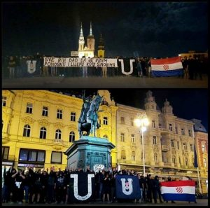 Загреб- Присталице НДХ-а (Фото: Facebook/Igor Premuzic)
