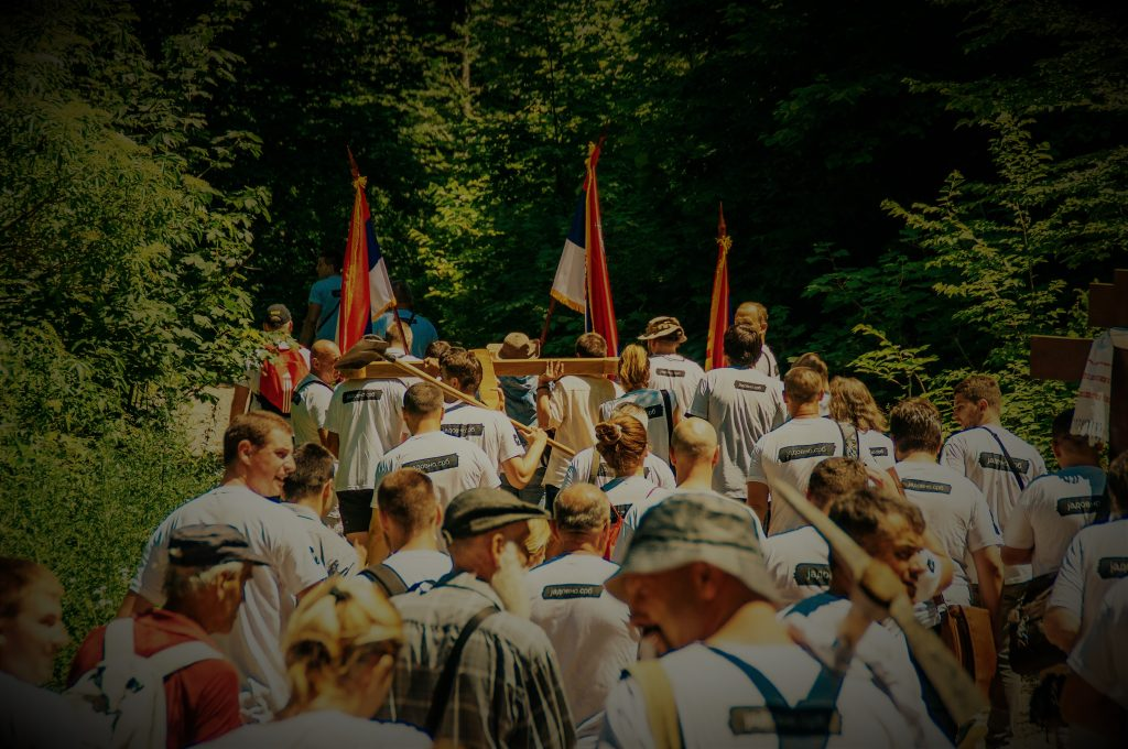 Iznošenje Časnog krsta do Katine jame na Velebitu 02. jula 2016.