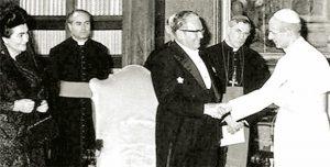 Тито код папе Павла VI